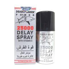 Thuốc xịt chống xuất tinh sớm Deadly Shark 25000