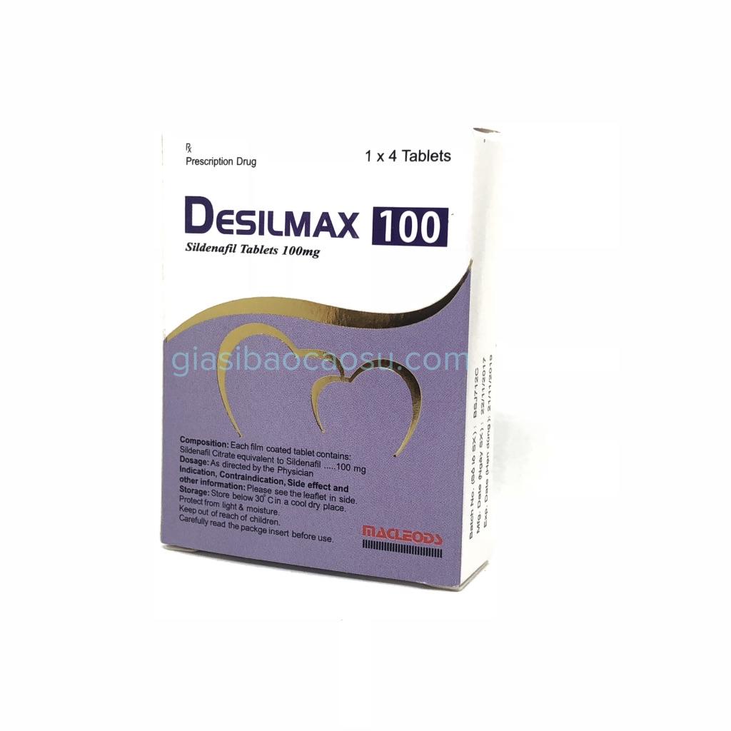 thuốc cường dương desilmax 100mg